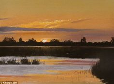 Inspiring: Kieron Williamson has stunned the art world with his incredible landscape paintings - at the age of ten