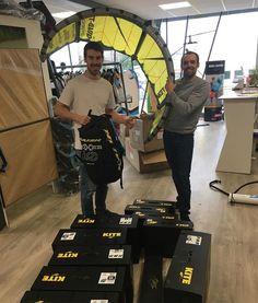 Arrivage de matériel Naish dont la nouvelle Boxer à découvrir prochainement sur AtaoRide !