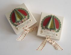 Christmas Lip Balm gift idea using Sizzix Shaker Box die