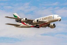 Emirates Airbus (registered photo by Yohann CASSE Airbus A380 Emirates, Emirates Airline, Emirates Cabin Crew, Airplane Photography, Jet Engine, Commercial Aircraft, Wide Body, Airports, Airplanes