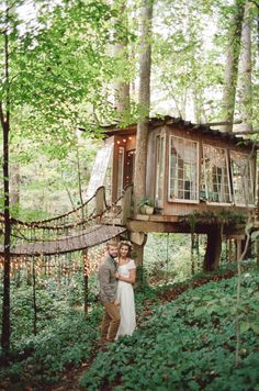 Voice of Nature - Treehouse wedding in   Downtown Atlanta   Inviting...