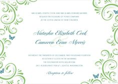 FREE TEMPLATE-LOOK AT WORDING     Wedding Invitation Template Best Template Collection hMoQHnyw