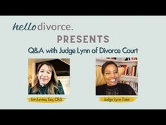 18 Lessons We Learned from Divorce Court's Judge Lynn | Hello Divorce Divorce Court, Divorce Process, Child Custody, Court Judge, Need To Know, Interview, How To Plan, Learning, Youtube