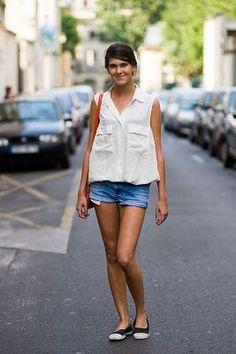 Summer Street Style in Paris - effortless summer chic