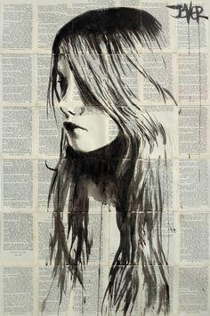 """Saatchi Art Artist LOUI JOVER; Drawing, """"fairytale"""" #art"""