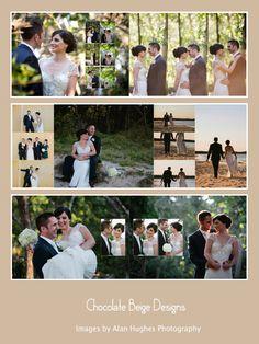 Fiona & Mark - 14x10 flushmount wedding album, images by Alan Hughes Photography