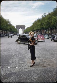 vintage everyday: Paris in 1950