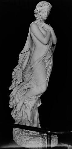 Raffaello Monti (1818–1881), The Veiled Woman, 1854