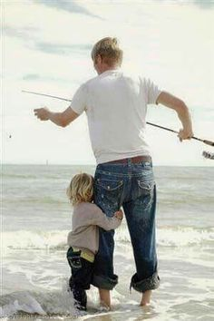 Fishing with Dad.