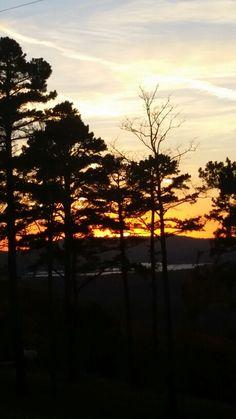 Sunset November 2014  Arkansas