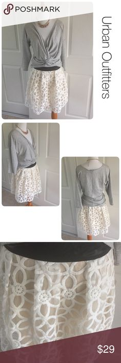 Urban Outfitters skirt by Pins and Needles sz 6 ♦️Excellent condition. No stains holes or piling, ♦️Materials- polyester/rayon blen Urban Outfitters Skirts Midi