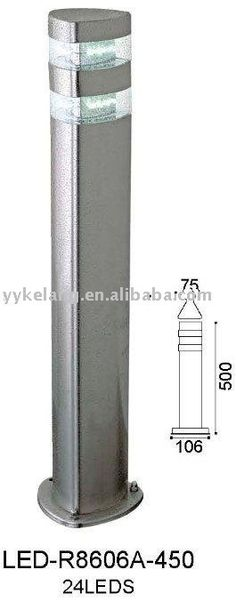 LED stainless steel outdoor  light,widely used on the  wall. great pin!
