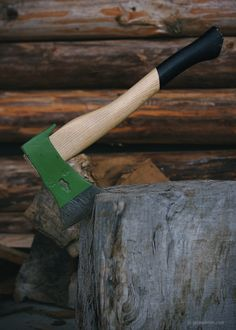 An axe in the copping block