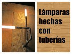 Lámparas-hechas-con-tuberías.jpg 800×600 píxeles
