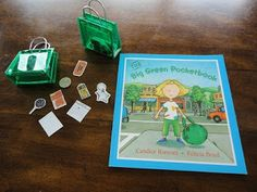 Learners in Bloom: Big Green Pocketbook - Dramatic Play Activity