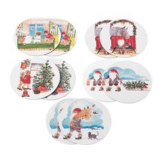 IKEA VINTERFINT - Coaster, assorted designs, Santa Claus / 10 pack / 10 pack - 10 cm Ikea http://www.amazon.co.uk/dp/B00RK4WMZK/ref=cm_sw_r_pi_dp_FkqVub1BC58GK