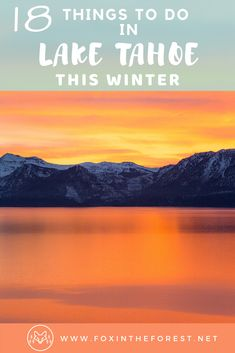 Get local, insider knowledge on the best things to do in Lake Tahoe in winter. Includes family-friendly activities, date ideas, % things to do besides ski. Sand Harbor Lake Tahoe, South Lake Tahoe, Winter Hiking, Winter Road, Winter Snow, Lake Tahoe Winter, Stuff To Do, Things To Do