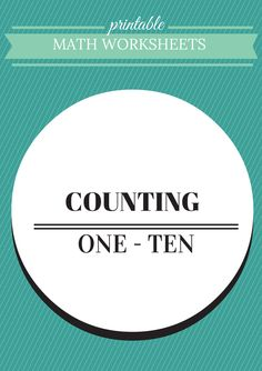 32 pages, including cover and list of featured worksheets Students are asked to count a variety of animals and objects and also instructed to fill in the missing numbers in a sequence of numbers. Preschool Education, Homeschool Math, Preschool Ideas, Homeschooling, Primary Classroom, Classroom Resources, Kindergarten Classroom, Printable Math Worksheets, Place Values