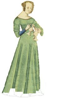 14th century women's dress - Google Search