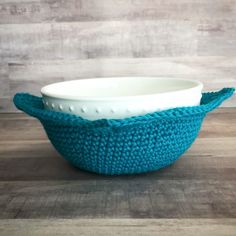 Crochet Microwaveable Bowl Cozy – Creating Me