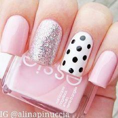 Super cute nail polish idea! Essie Nail Lacquer - Go Go Geisha   #essie #nails #nailpolish #polish #affiliate
