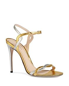 Gucci May Ankle Strap High Heel Sandals | Bloomingdale's