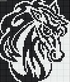 Crochet Horse, Love Crochet, Crochet Animals, Cross Stitch Bookmarks, Counted Cross Stitch Patterns, Cross Stitch Charts, Knitting Charts, Knitting Patterns, Crochet Patterns