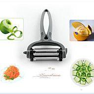 1+piese+Cutter+pe+&+Slicer+For+pentru+legume+/+pentru+Fructe+Oțel+InoxidabilMultifuncțional+/+Calitate+superioară+/+Bucătărie+Gadget+–+USD+$+4.27