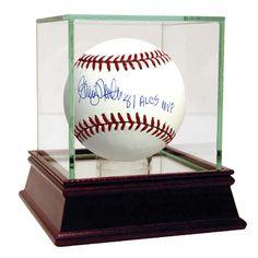 Graig Nettles Signed MLB Baseball w 81 ALCS MVP insc