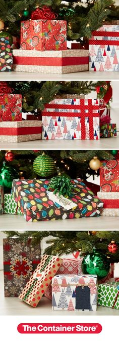 Glee under the tree starts with perfectly wrapped presents. Yule find amazing gift wrap, ribbons, tie-ons and tags!