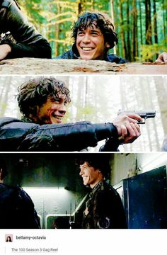 Bellamy Blake | Bob Morley I really adore his smile