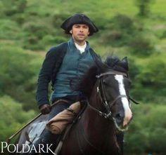 Poldark yeah I love this show! And Seamus is definitely a dream horse