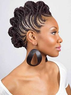 Plaits or Braids For Thick Hair