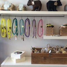 A beautiful selection of curated dog finds. Tug & Toss $6-$10 Rope Bone Toy  $8-$10  www.harrybarker.com