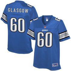 Graham Glasgow Detroit Lions NFL Pro Line Women's Player Jersey - Blue