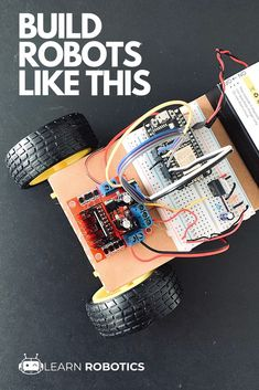 Develop an Arduino mobile robot in this DIY, Learn Robotics course. Design an arduino mobile robot, learn to code, and complete the robotics projects. Cool Arduino Projects, Robotics Projects, Science Projects, Real Robots, Robots For Kids, Learn Robotics, Mobile Robot, Arduino Programming, Computer Science