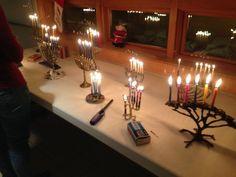 Fried food stars in Hanukkah meal