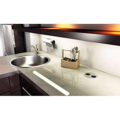 Bloc 2 prises TWIST pour votre plan de travail avec clapet - La qualité professionnelle pour aménager votre cuisine