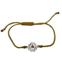 Solar Plexus Chakra Bracelet Adjustable Yellow, chakras jewelry | shanti boutique spiritual jewelry