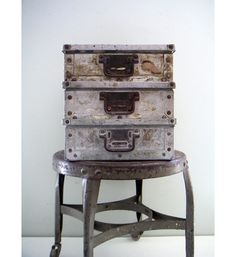 Vintage industrial cases