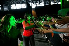 """First Lady Michelle Obama greets students following during a """"Let's Move! Active Schools"""" event at McCormick Place in Chicago, Ill., Feb. 28, 2013."""