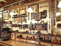 Ultimate Woodshop on Wheels: Mike Doerner    This homeowner can convert his garage into a full-fledged woodworking shop in a matter of minutes. See how he designed this woodshop on wheels.