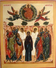 Lecture de l'Icône de l'Ascension - Sr. #MarieDeNazareth - #Lotedhal - #Icone - #Ascension