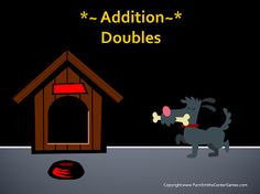 Math PowerPoint ~ Doubles in Addition Including #FREE Doubles in Addition Center Game www.FernSmithsClassroomIdeas.com