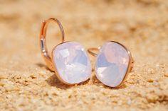 artjany++Ohrhänger+rose+water+opal++rosé+gold+von+artjany+-+kunstjuwelen+auf+DaWanda.com