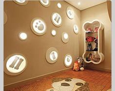 """Dog room! This might take """"Crazy Dog Lady"""" to a new level but I want to do this!"""