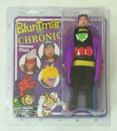 """Bluntman and Chronic 8"""" Action Figure - Bluntman Silent Bob Kevin Smith SOLD OUT #SmodCo"""