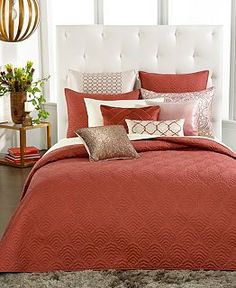 CLOSEOUT! INC International Concepts Valentina Coverlet Collection - Bedding Collections - Bed & Bath - Macy's