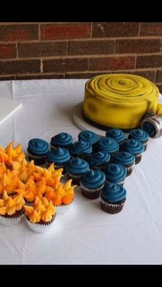 Awesome Firefighter cake