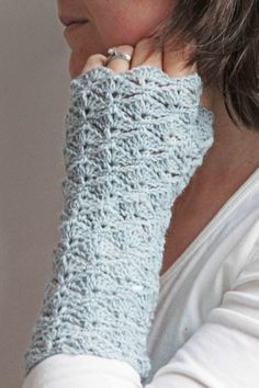 Fingerless Gloves - Free Crochet Pattern